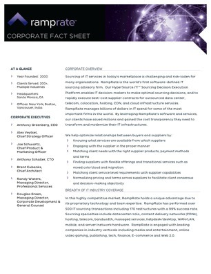 cfs-ramprate-corporate-fact-sheet
