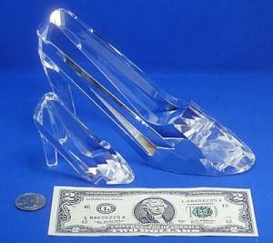 Glass Slipper Compare Dollar